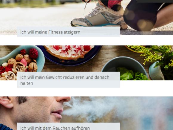 Fitness verbessern? Gewicht reduzieren? Rauchen aufhören? (I134)