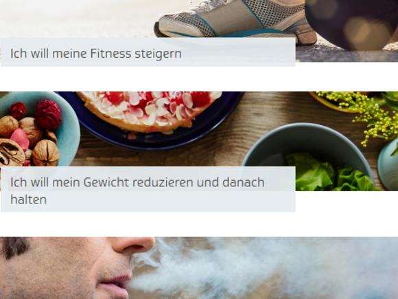 Fitness verbessern? Gewicht reduzieren? Rauchen aufhören?
